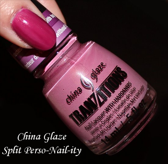 China Glaze Split Perso-Nail-ity Swatches & Review ...
