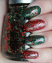 Christmas Manicure Swatch
