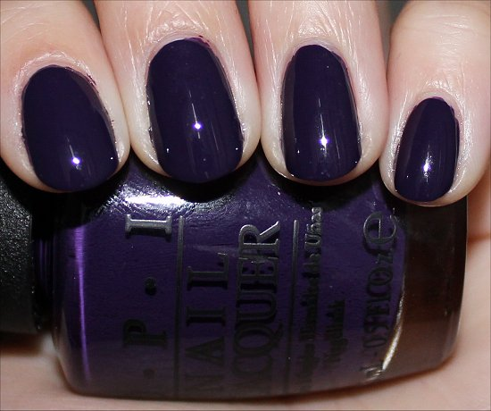 Euro Centrale Collection OPI Swatches