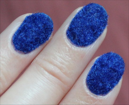 Flocked Manicure Nail Art Trends
