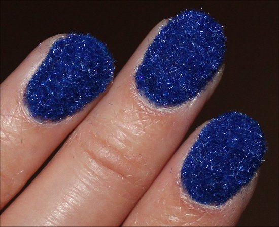 Flocking Manicure Nail Art Trends
