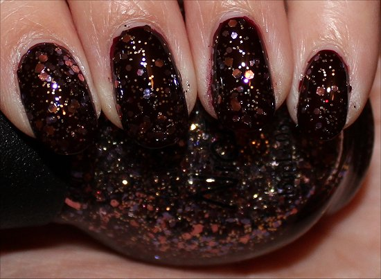 Inner Sparkle Nicole by OPI Swatch Selena Gomez Collection
