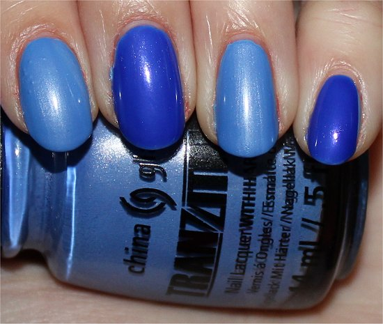 Modify Me China Glaze Tranzitions Collection Swatches & Review