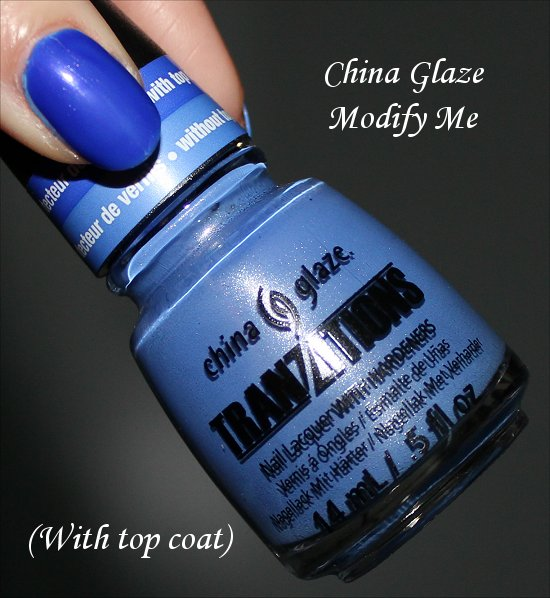 Modify Me China Glaze Tranzitions