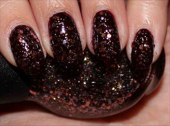 Nicole by OPI Inner Sparkle Swatches & Review