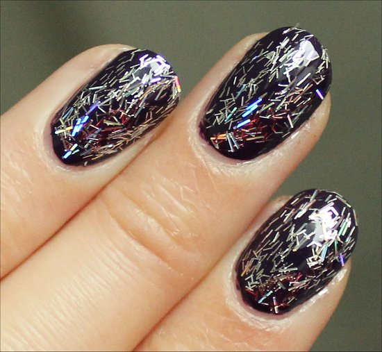 Nicole by OPI Selena Gomez Stars at Night Swatch