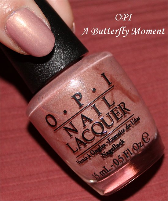 OPI A Butterfly Moment Mariah Carey Collection