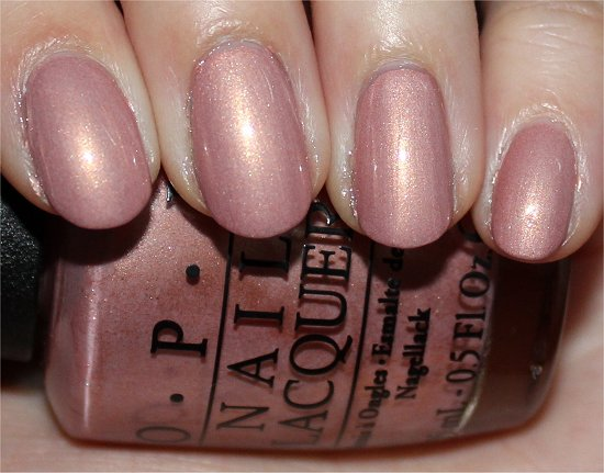 OPI A Butterfly Moment Swatches