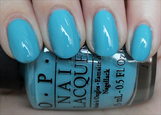 OPI Can't Find My Czechbook Swatch Euro Centrale Collection