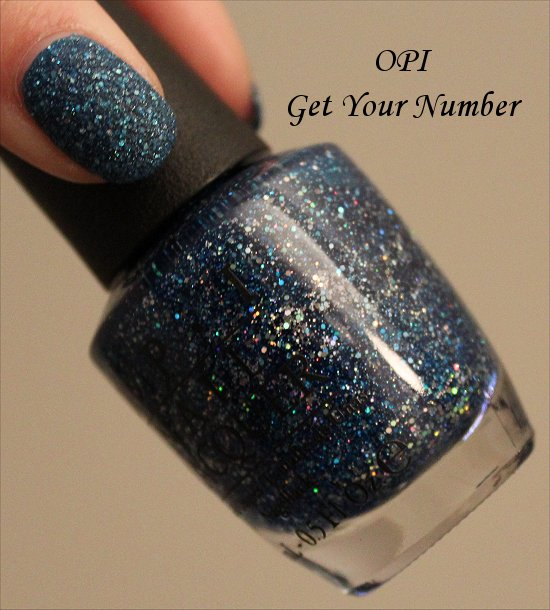 OPI Get Your Number Pictures