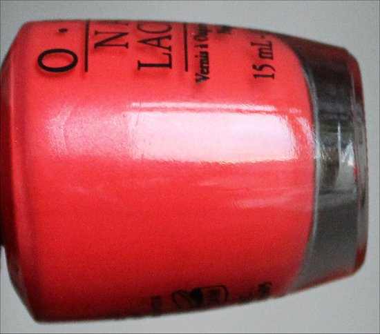 OPI My Paprika Is Hotter Than Yours Euro Centrale Collection