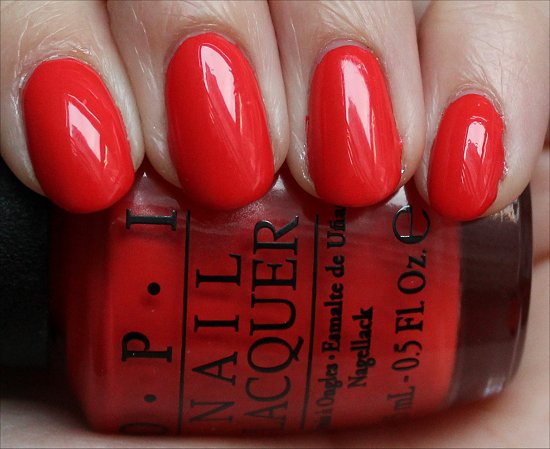OPI My Paprika Is Hotter Than Yours Swatches, Review & Pics