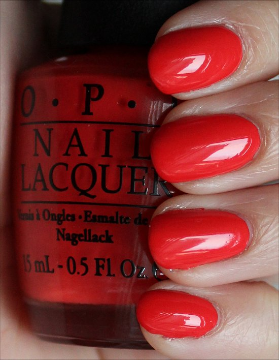 OPI My Paprika Is Hotter Than Yours Swatches & Review