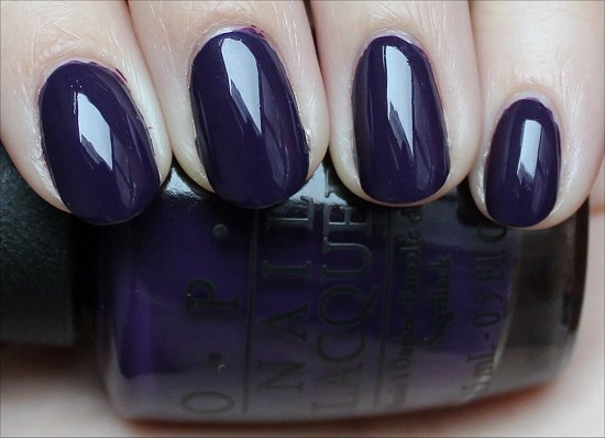 OPI Vant to Bite My Neck Review & Swatch