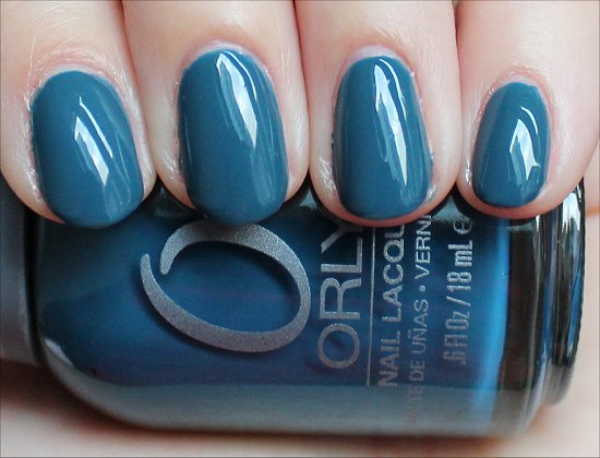 Orly Sapphire Silk Swatch & Review