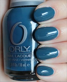 Orly Sapphire Silk Swatches & Review
