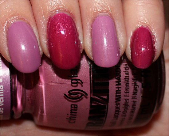 Split Perso-Nail-ity China Glaze Tranzitions Swatches & Review