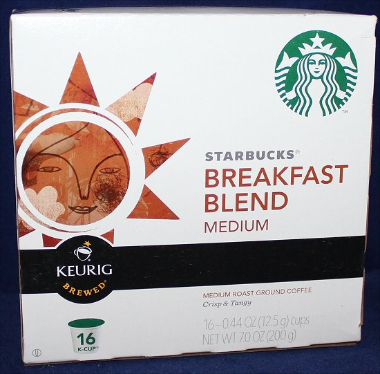 Starbucks Breakfast Blend Coffee