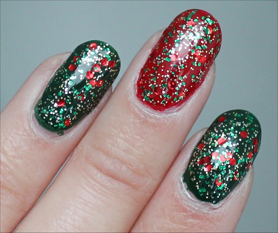 Xmas Manicure Pictures