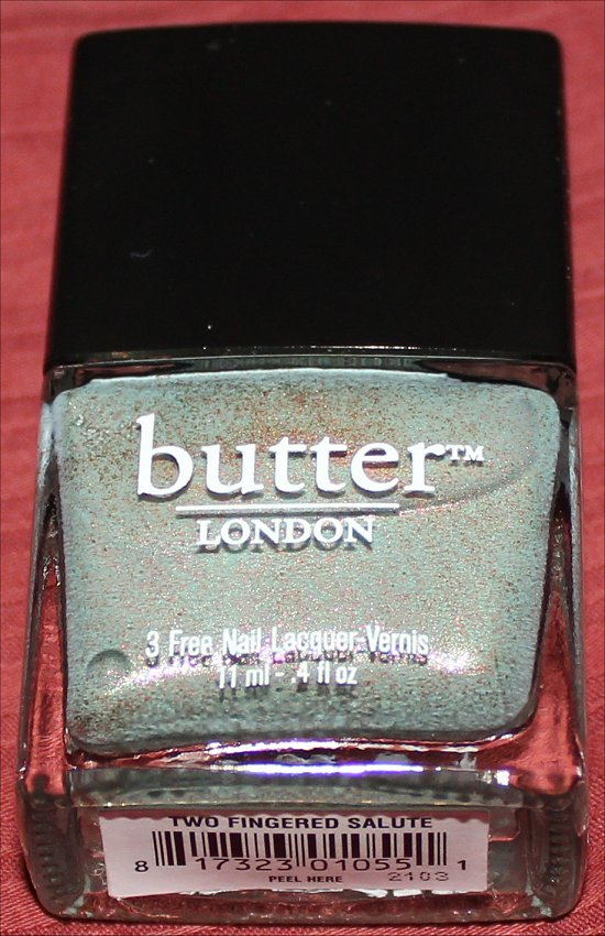 Butter London Two Fingered Salute Photos
