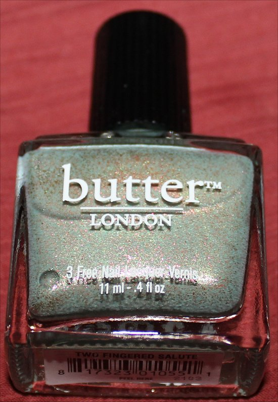 Butter London Two Fingered Salute Pics