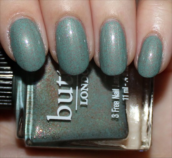 Butter London Two Fingered Salute Review & Swatch