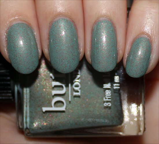Butter London Two Fingered Salute Review & Swatches