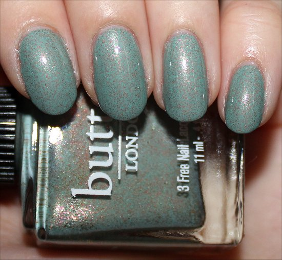 Butter London Two Fingered Salute Swatch & Review