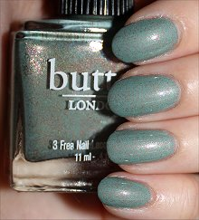 Butter London Two Fingered Salute Swatches & Review