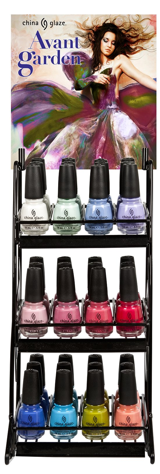 China Glaze Avant Garden Collection Press Release & Promo Pictures 36-Piece Set