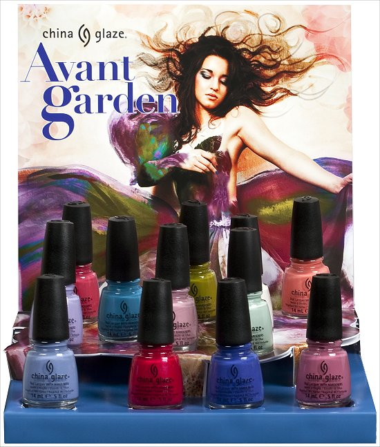 China Glaze Avant Garden Collection Press Release & Promo Pictures