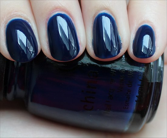 China Glaze Calypso Blue Review & Swatches