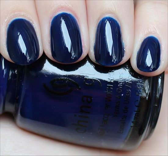 China Glaze Calypso Blue Swatch
