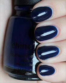 China Glaze Calypso Blue Swatches &amp; Review