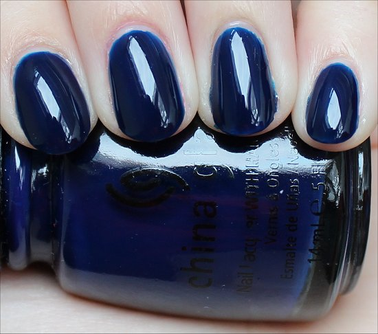 China Glaze Calypso Blue Swatches