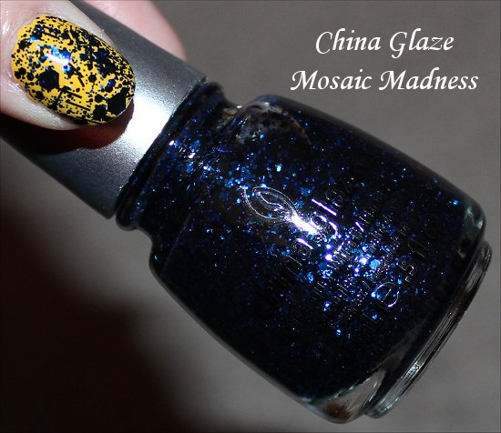 China Glaze Mosaic Madness Glitz Bitz n Pieces Collection Pictures