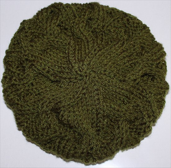 Finished Green Beanie