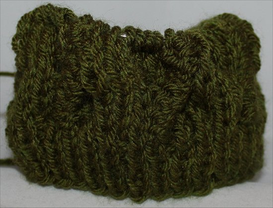 Green Hat Knitting
