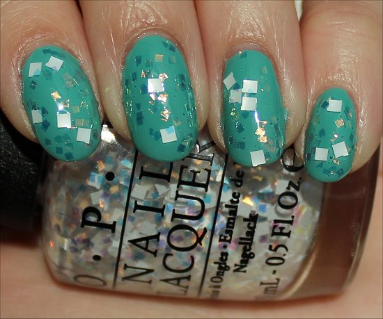 Lights of Emerald City by OPI Swatch & Review