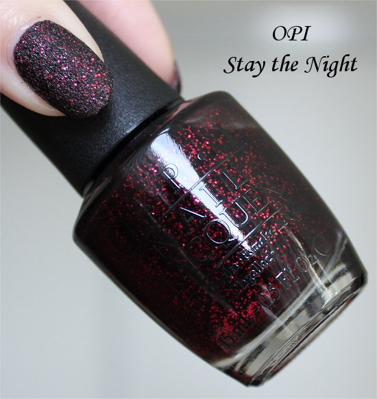 Mariah Carey OPI Liquid Sand Stay the Night Swatch