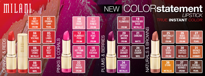 Milani-Color-Statement-Lipstick-Press-Release-Promo-Pictures