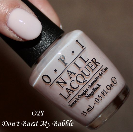 OPI Don't Burst My Bubble Oz Collection Photos