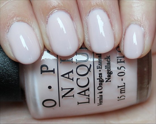 OPI Don't Burst My Bubble Swatch & Review