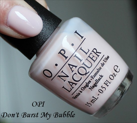 OPI Don't Burst My Bubble