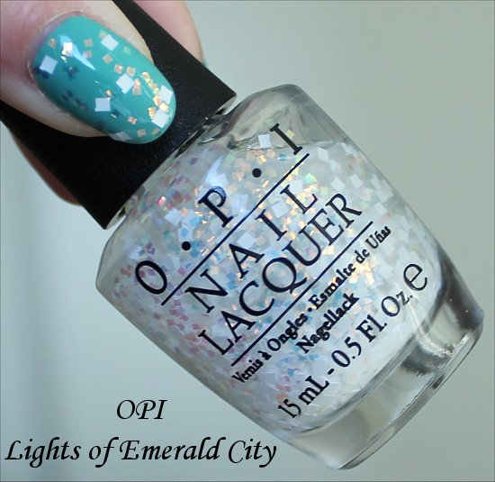 OPI Lights of Emerald City Photos