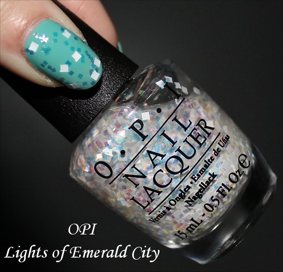OPI Lights of Emerald City Pictures