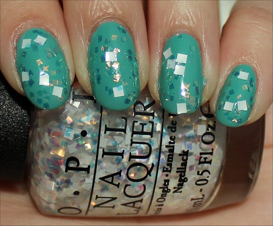 OPI Lights of Emerald City Review &amp; Swatch