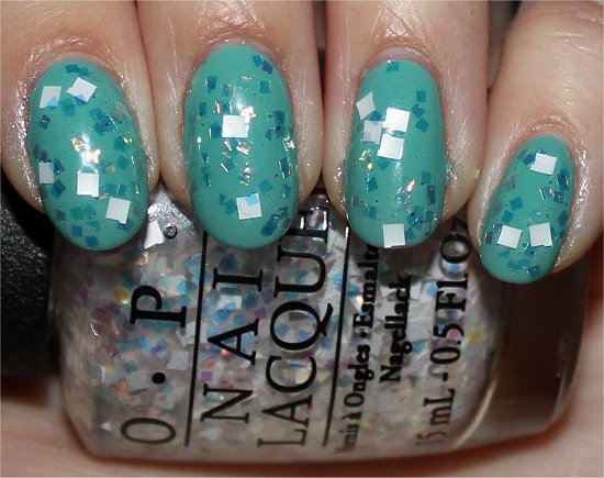 OPI Lights of Emerald City Review, Swatches & Pics