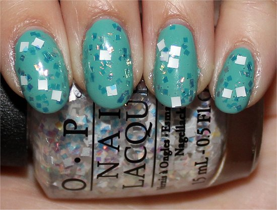OPI Lights of Emerald City Review &amp; Swatches