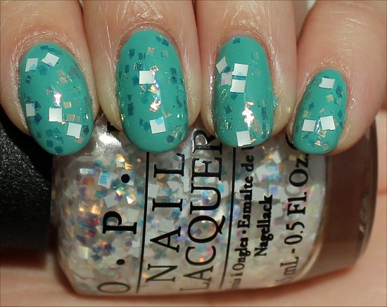 OPI Lights of Emerald City Swatch &amp; Review